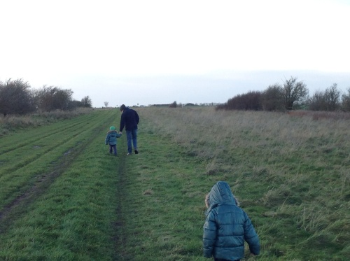 The stoic spouse and the twinnage on a The Ridgeway