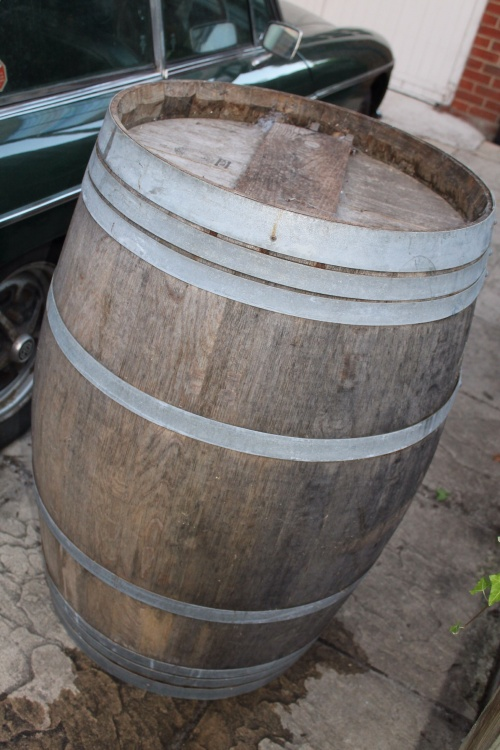 Beer Barrel Water Butt