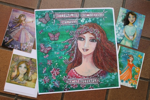 Prints by The Contented Crafter. :-)