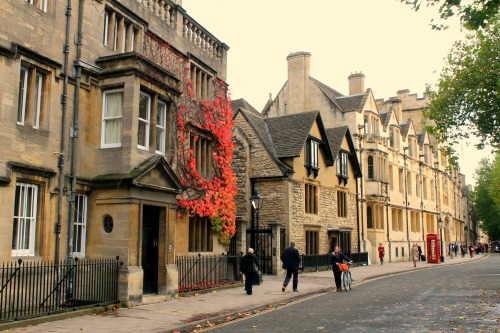 Oxford in the autumn
