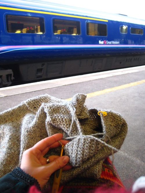 Hooking Whilst Waiting For The Stupid-O'clock-In-The-Morning Service To London