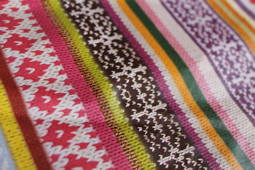Knitted Decopatch paper