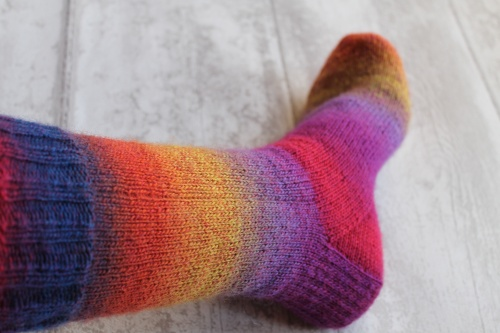 knitted sock