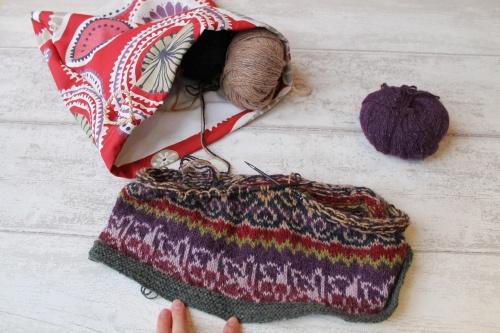 designing a stranded skirt
