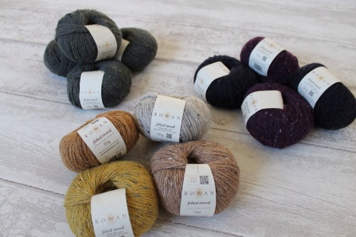 All The Yarn. It's Rowan Felted Tweed DK, By The Way.