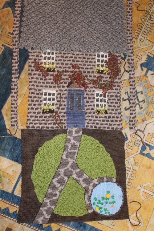 Slowly, Slowly, Crochet Housey