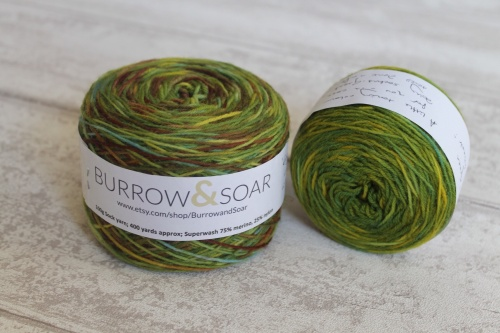 Burrow And Soar yarn