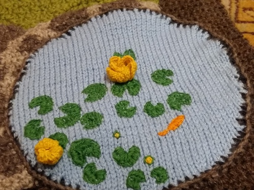 knitted pond